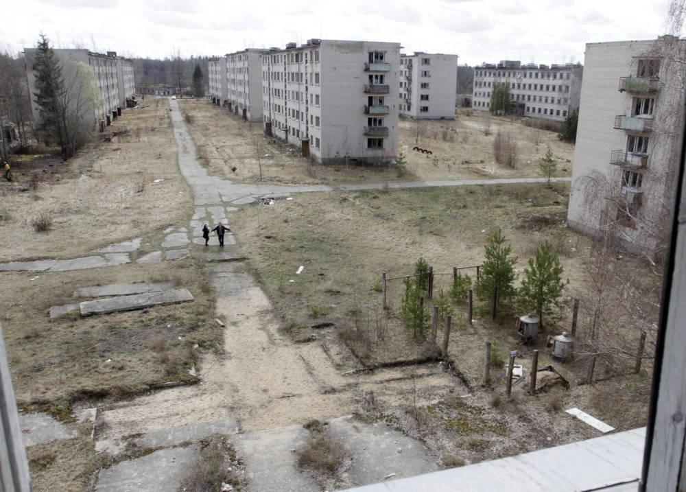 Skrunda, Lettland