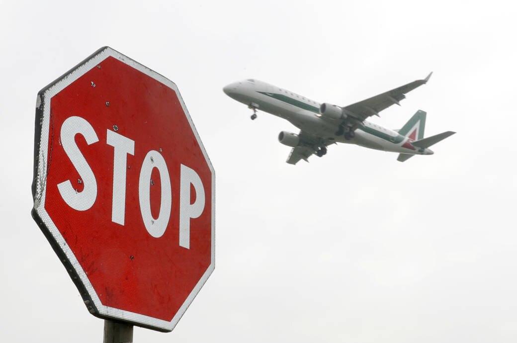Sperrung Flughafen Mailand-Linate