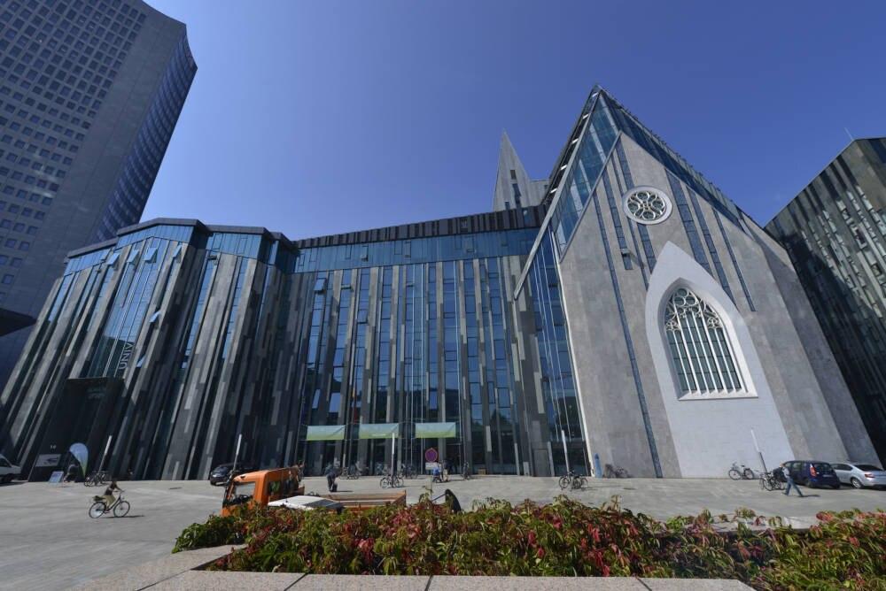 Neues Augusteum Universitaet Leipzig Sachsen Deutschland