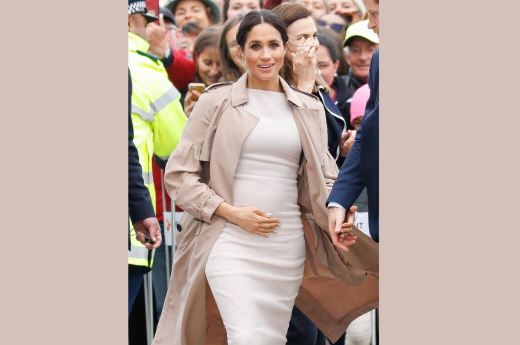 Schwangere Herzogin Meghan