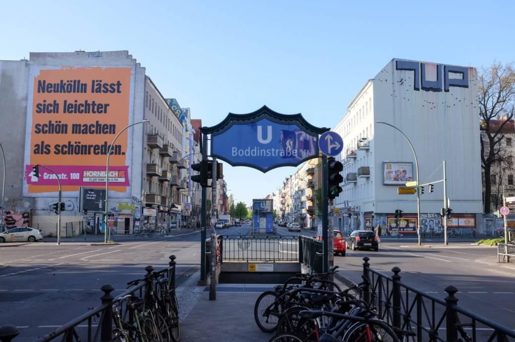 Neukölln, U-Bahnhof Boddinstraße