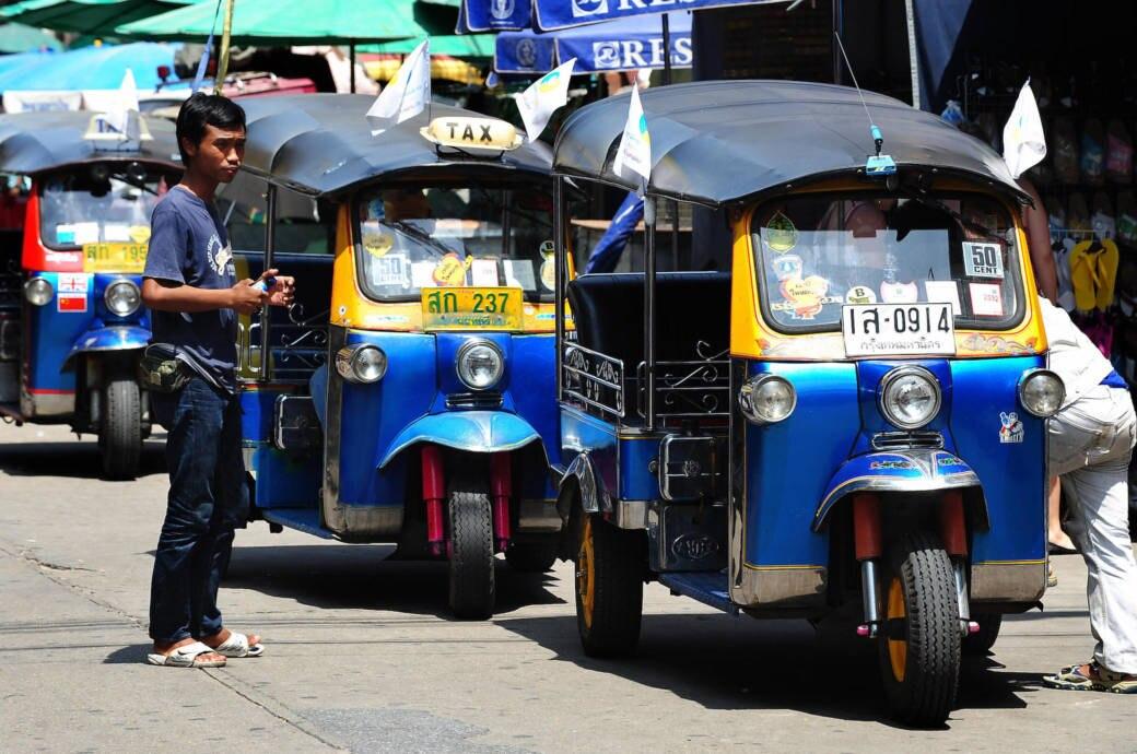Tuku-Tuks in Bangkok