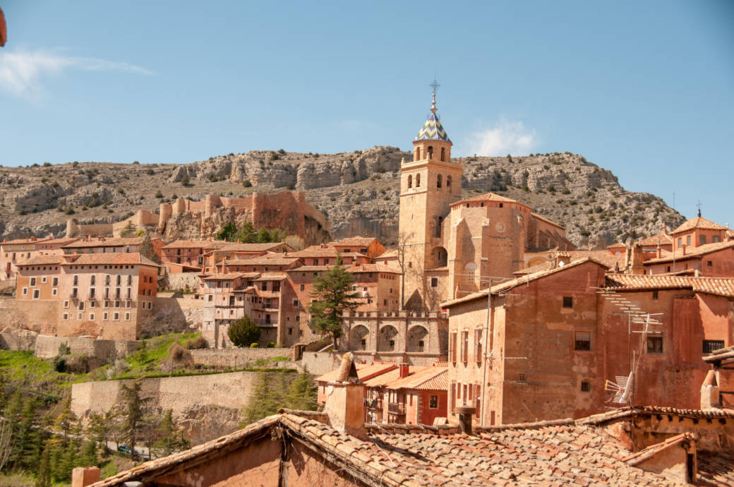 Albarracín in Spanien