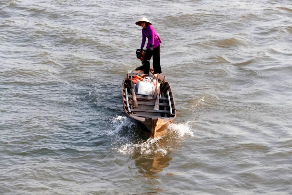 Mekong Delta, Fluss, Vietnam