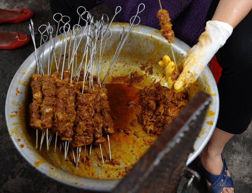 Hundefleisch-Gericht Vietnam