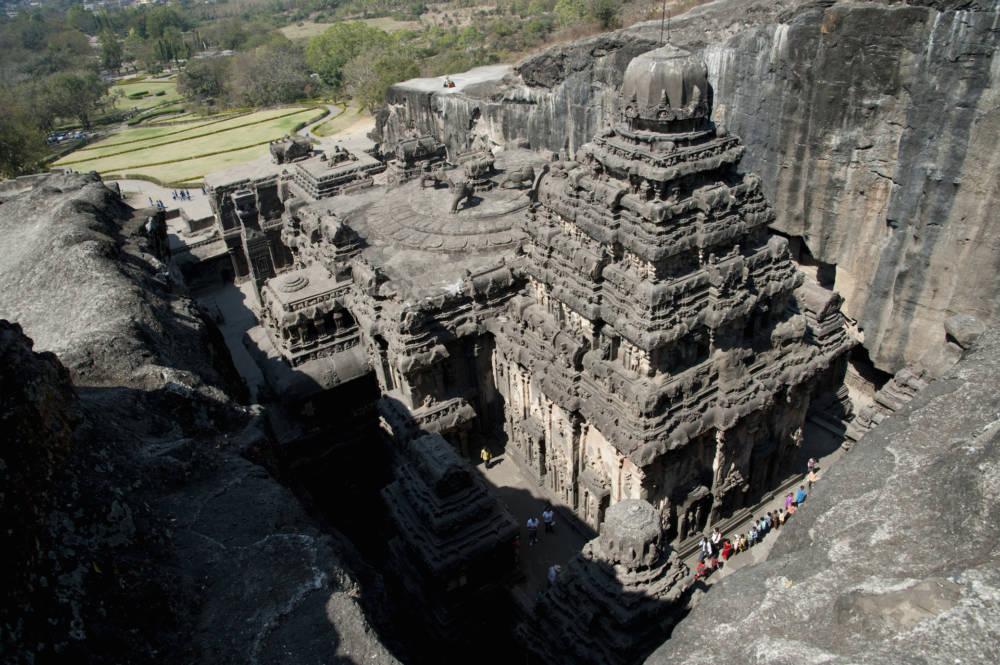 Kailasa-Tempel in Indien