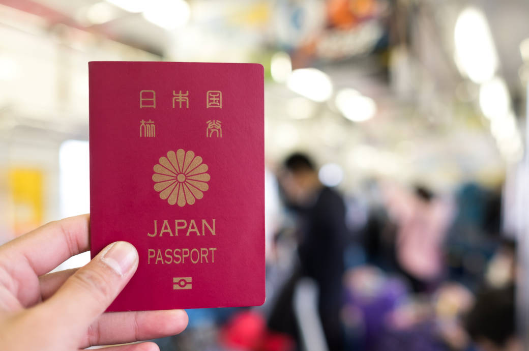 Reisepass Japan