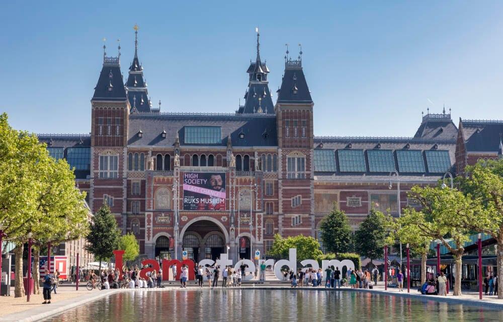 Museumsplein in Amsterdam