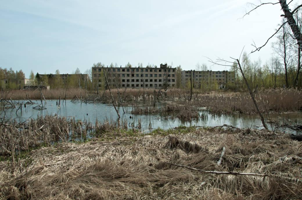 Skrunda, Lettland, Lost Place