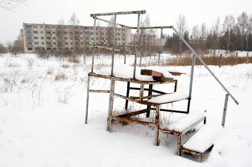 Skrunda-1, Lettland, Lost place