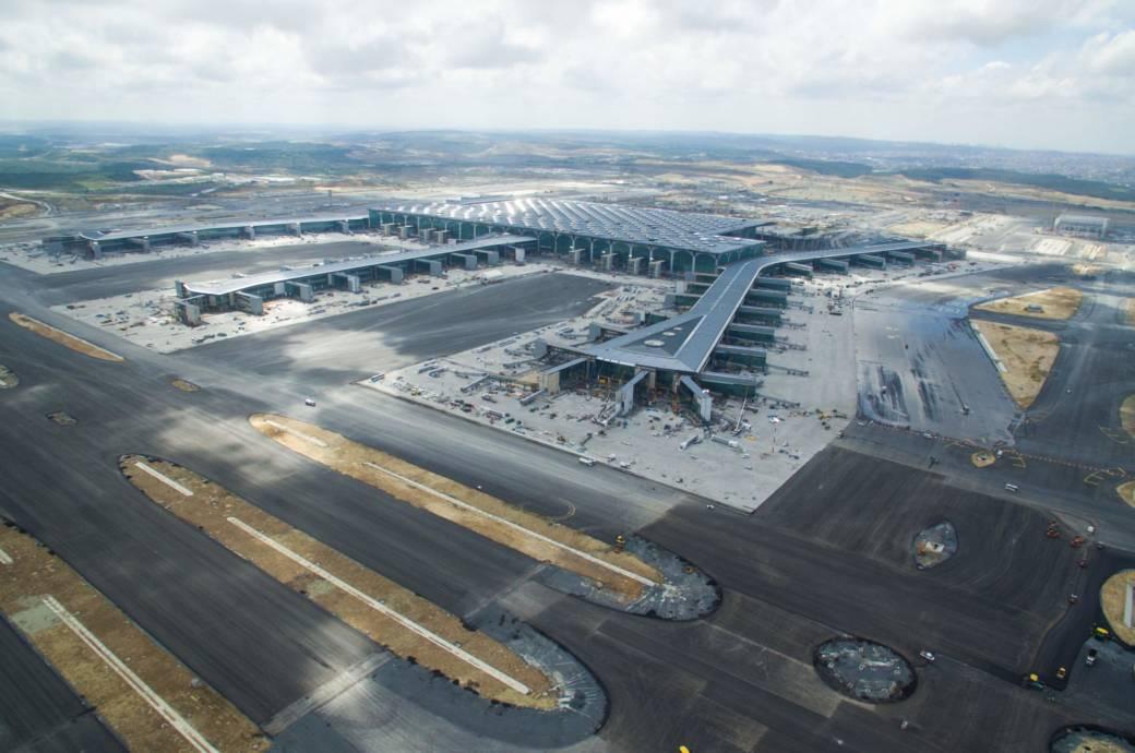 Der Flughafen Istanbul soll in den nächsten zehn Jahren der größte Flughafen der Welt werden