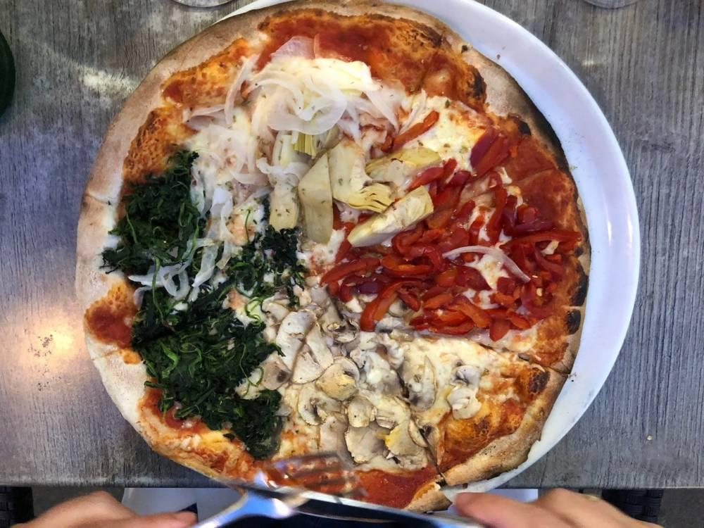 """Die Pizzeria Lupo Trattoria befindet sich in der Düsseldorfer Alstadt, nahe der sogenannten """"Längsten Theke der Welt"""""""