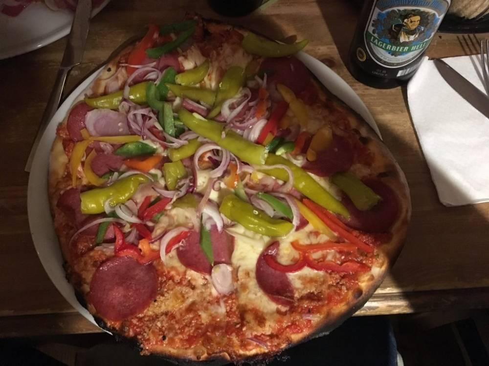 Leckere Pizza für Partygänger gibt es bei der Pizza Bande auf St. Pauli