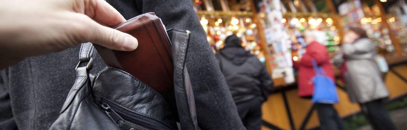 Taschendiebstahl Weihnachtsmärkte