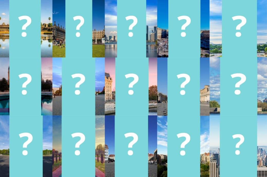 Collage Quiz Sehenswürdigkeiten