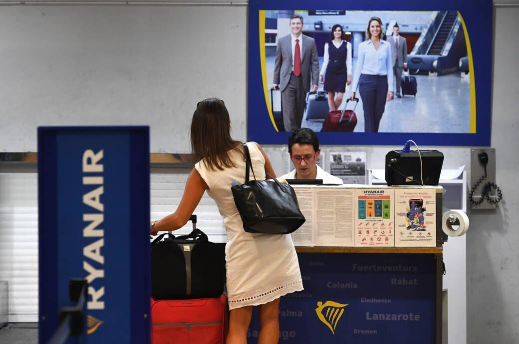 Neue Handgepäck-Regelung bei Ryanair
