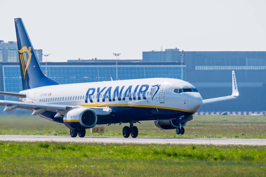 Die Boeing 737 von Ryanair dient als Privatjet