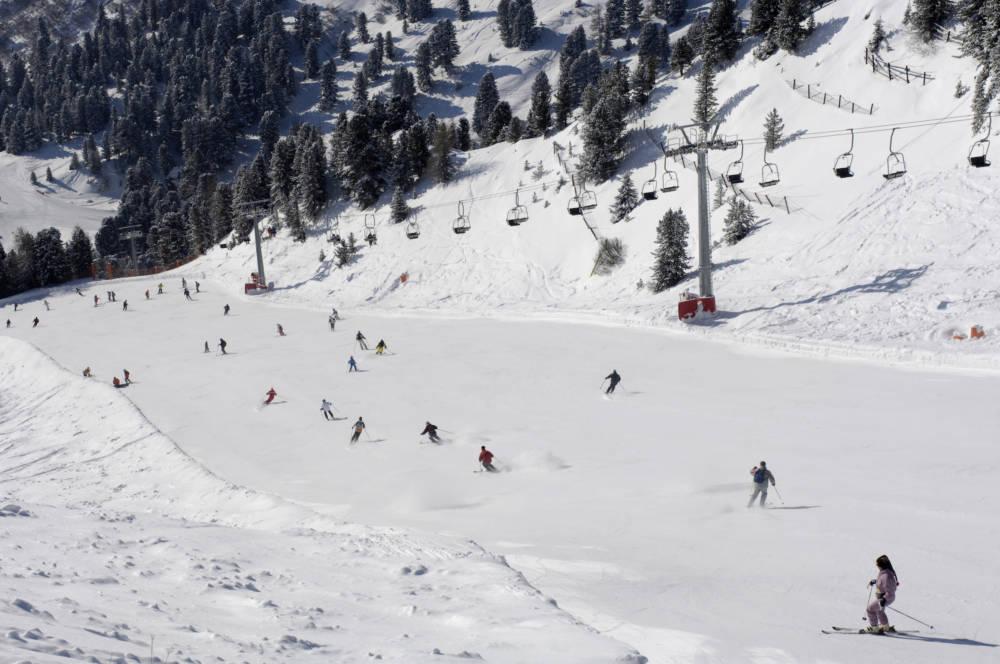 Skigebiet Grödnertal