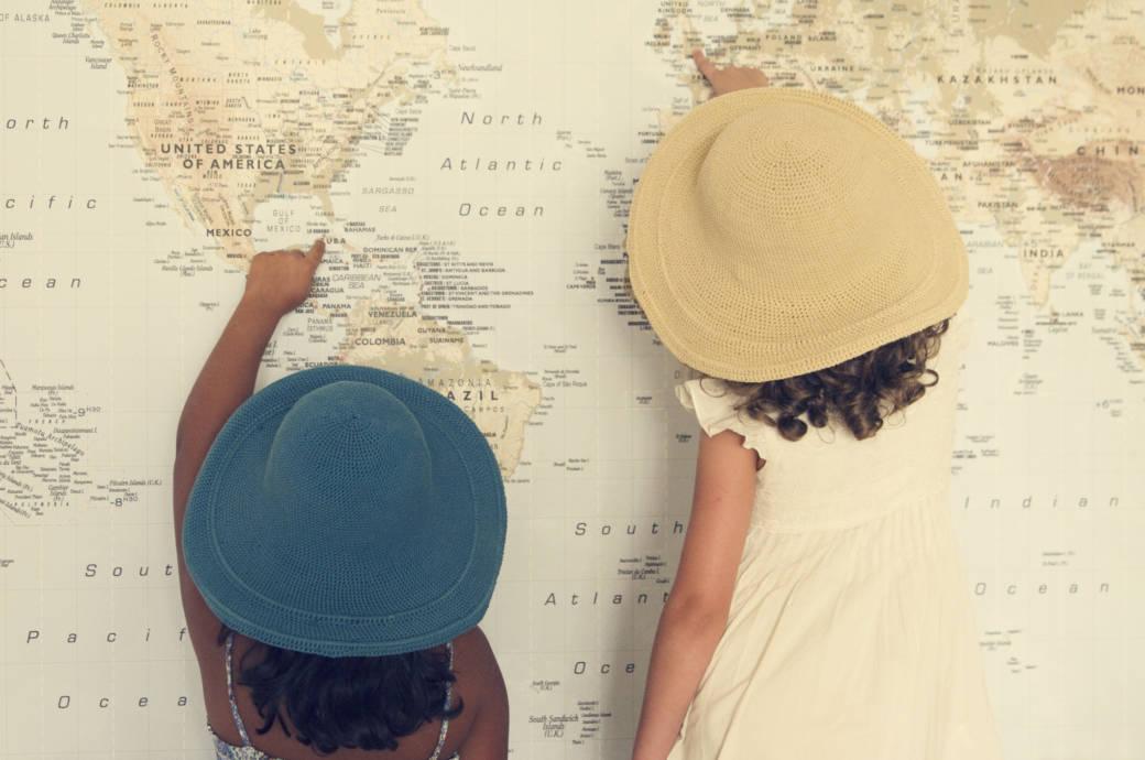 Weißt du, welches Land das größere ist?