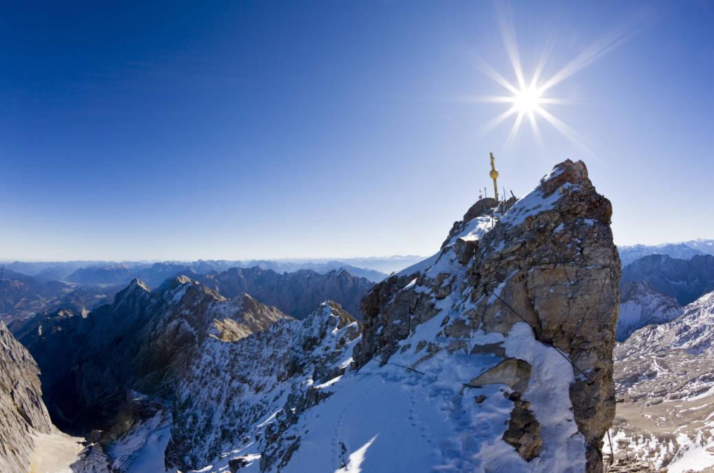 Auf der Zugspitze können Wanderer ab jetzt ihre Schnappschüsse direkt auf Social Media posten