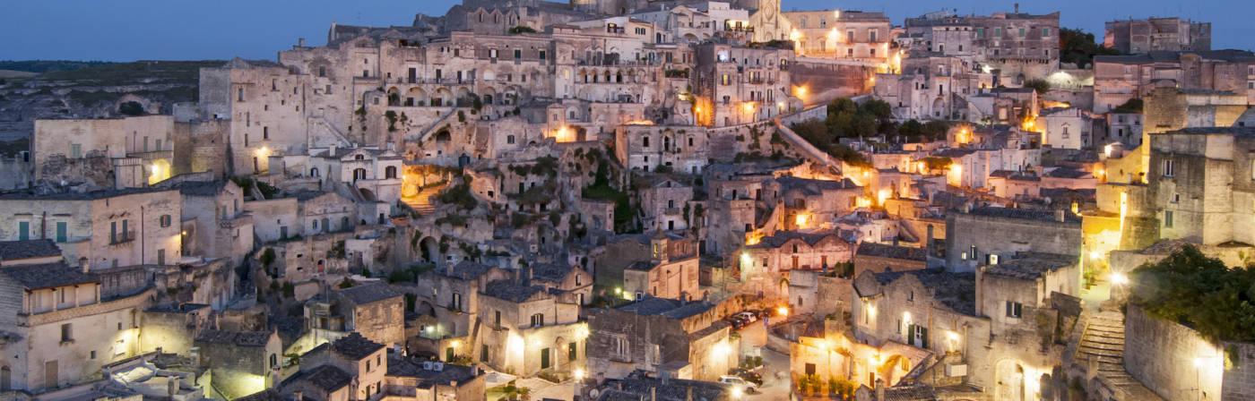 Das italienische Bergdorf Matera ist 2019 Europäische Kulturhauptstadt.