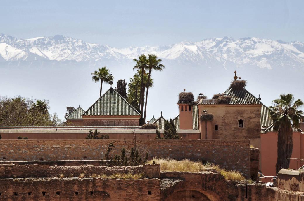 Marrakesch, Atlasgebirge
