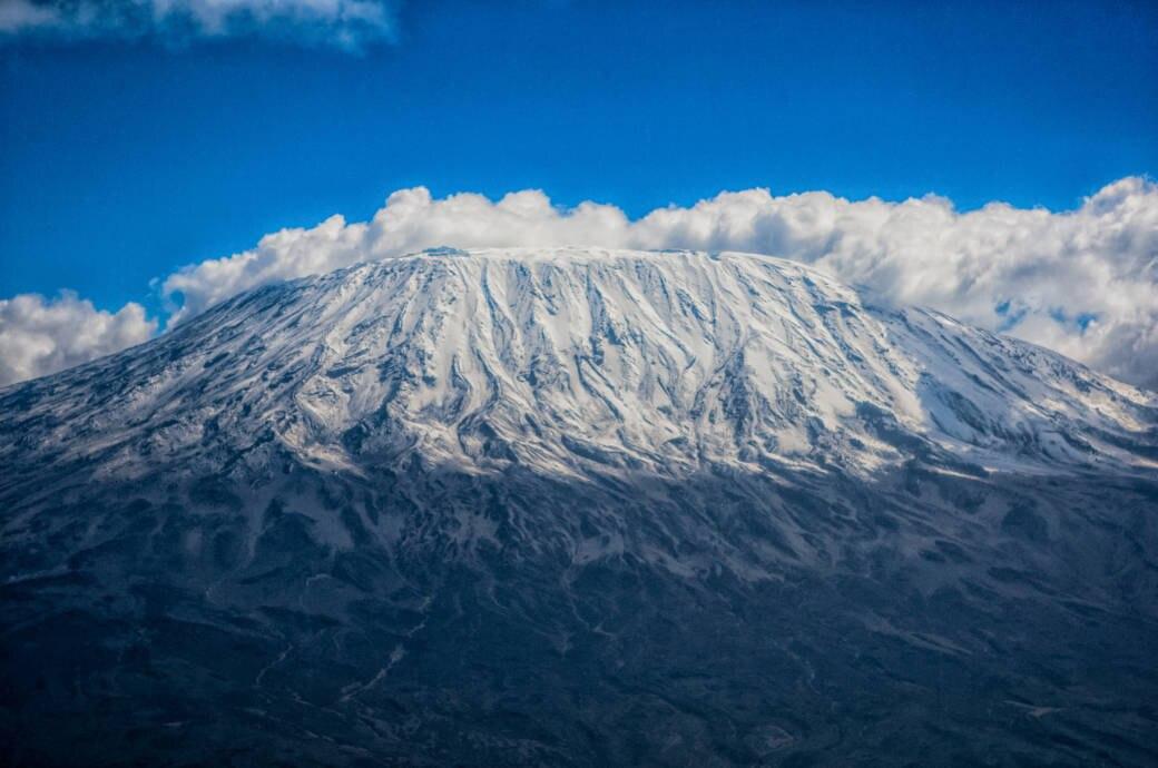 Der Kilimandscharo gehört zu den Seven Summits
