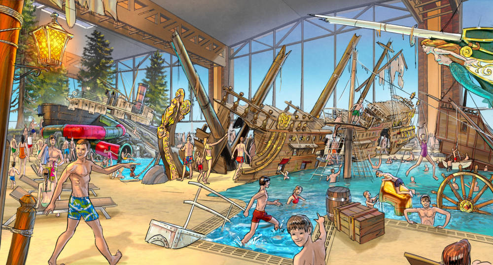 Illustration Schiffswrack Rulantica