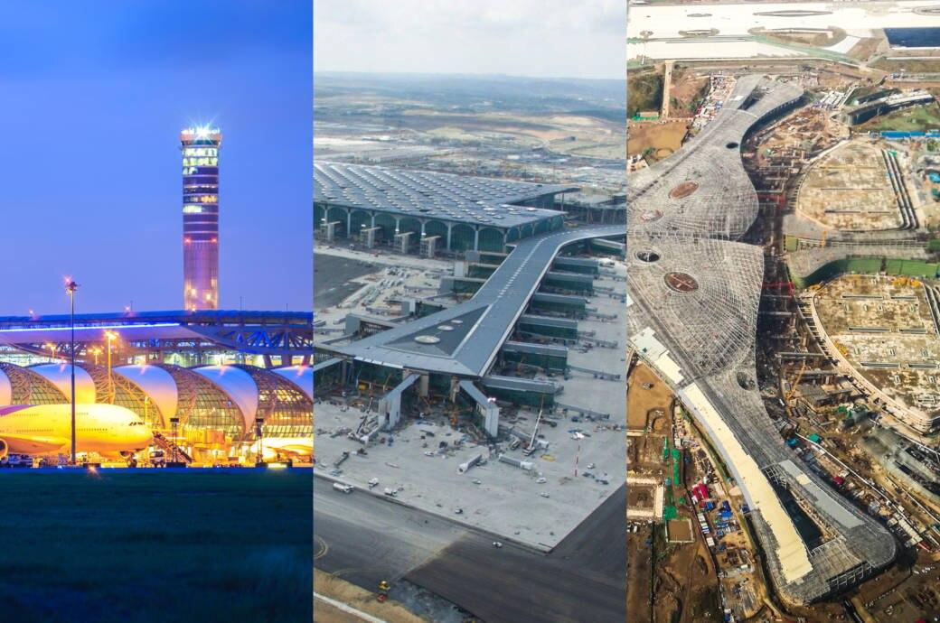 Die größten Flughäfen der Welt
