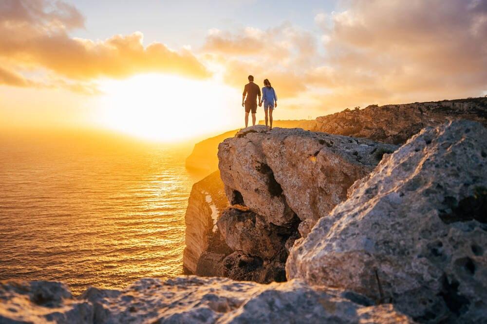 Dingli Cliffs: Auf dem höchsten Punkt Maltas lassen sich die romantischsten Sonnenuntergänge bewundern