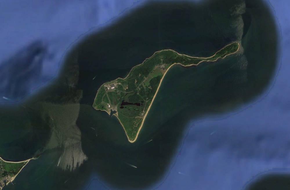Luftaufnahme von Plum Island