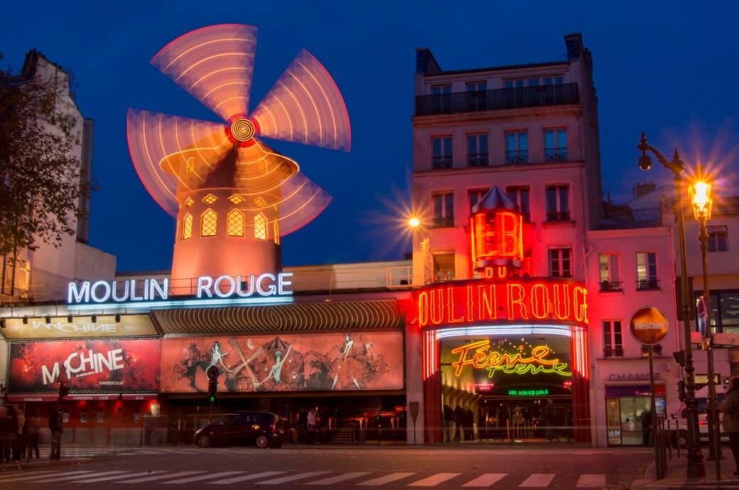Das Moulin Rouge in Paris begeistert auch heute noch
