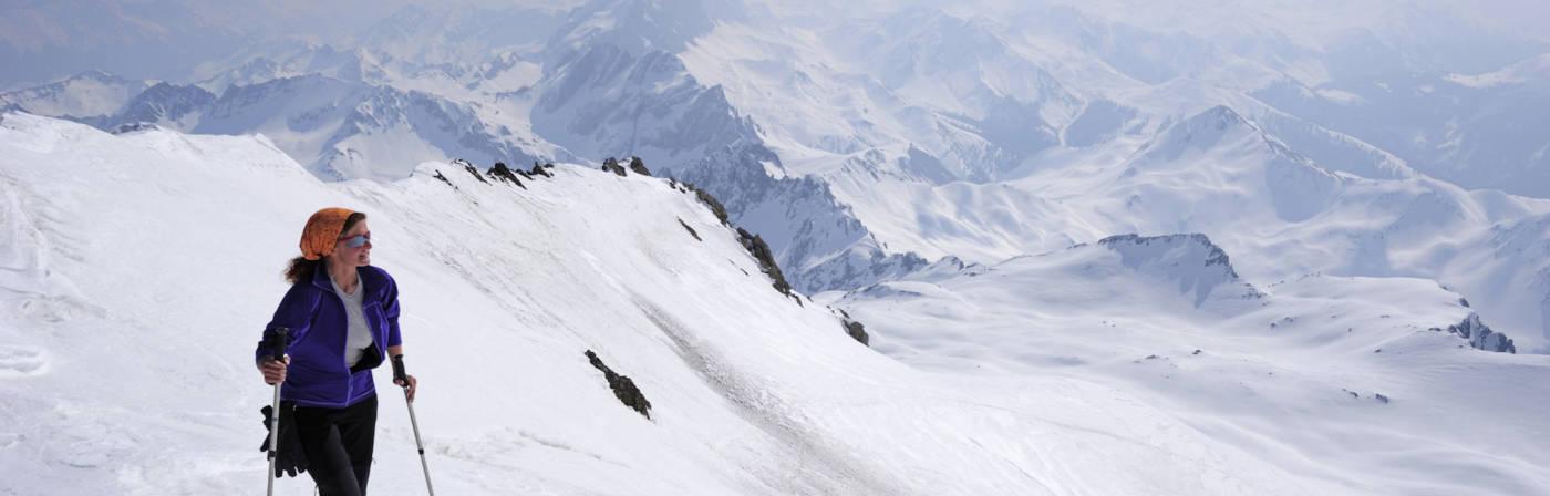 Die Alpen haben extrem steile Pisten zu bieten