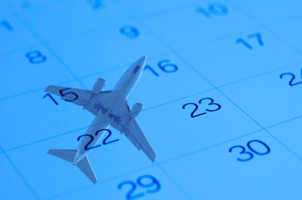 Flugzeug Kalender