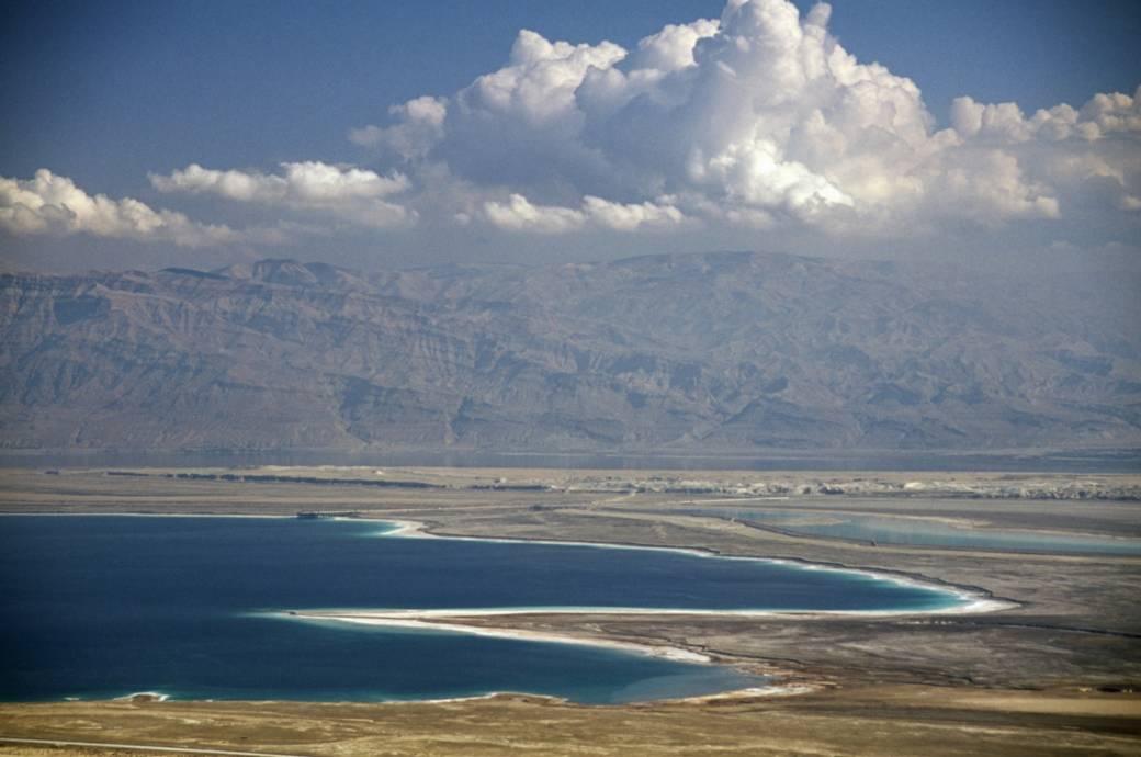 Blick auf das Tote Meer von Masada aus