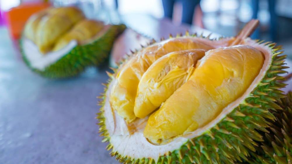 das Innere der Durian
