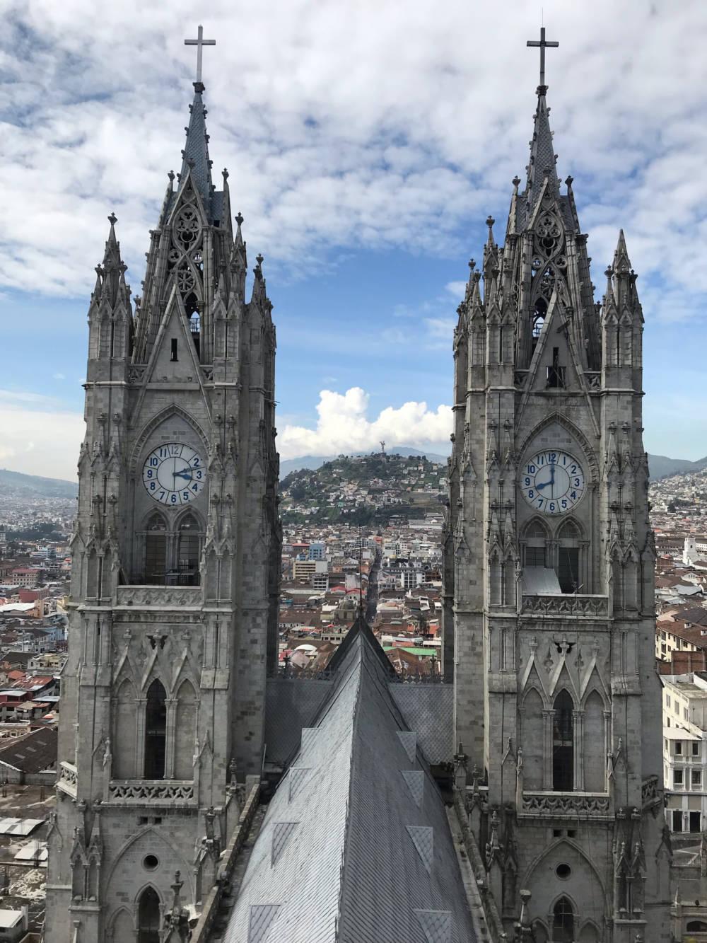 Quito hat einige interessante und schöne Sehenswürdigkeiten zu bieten