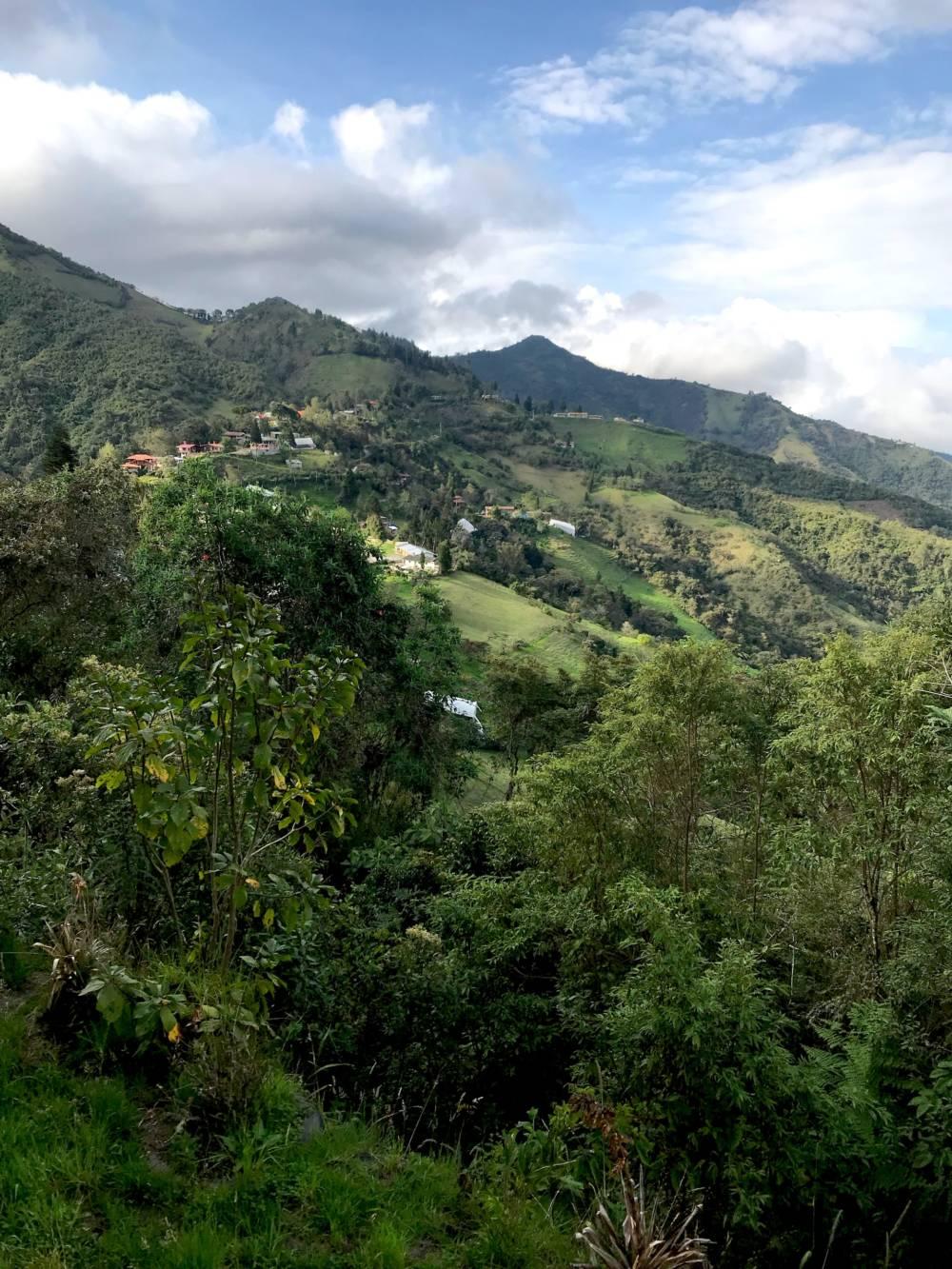Überall in Quitos Umgebung gibt es indigene Völker