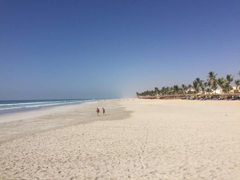 Strand in Salalah, Oman
