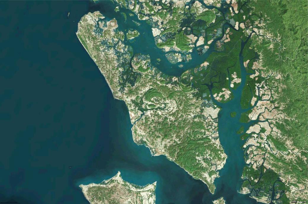 Ramree Island vor Myanmar
