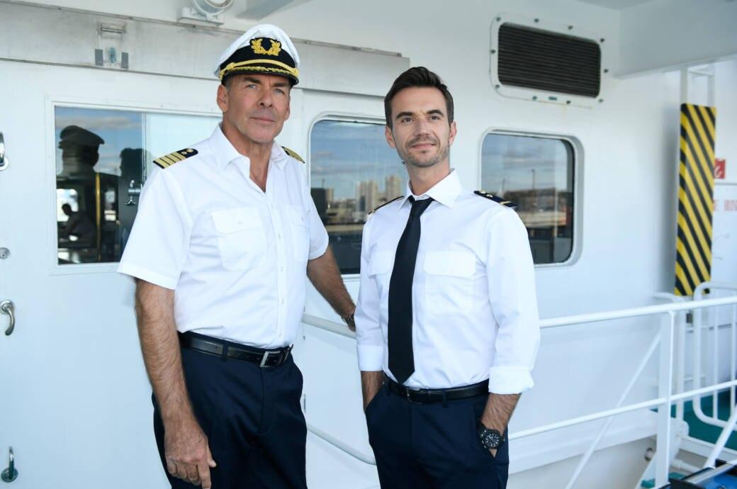 Florian Silbereisen auf dem Traumschiff