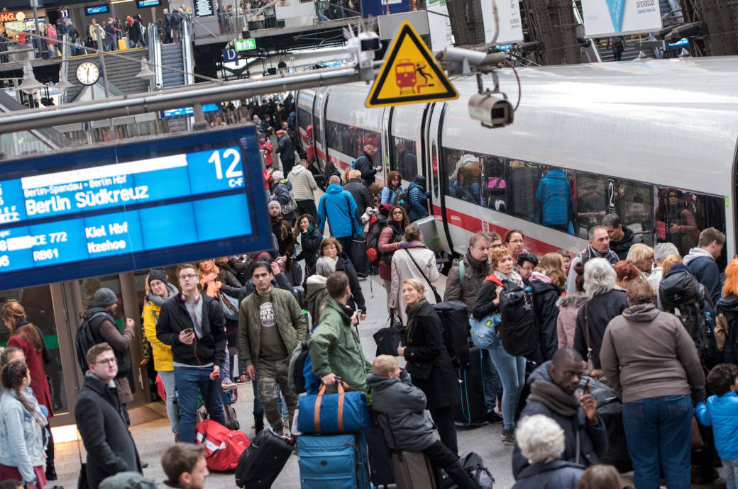 Fast 25 Prozent aller Züge der Deutschen Bahn waren 2018 pünktlich
