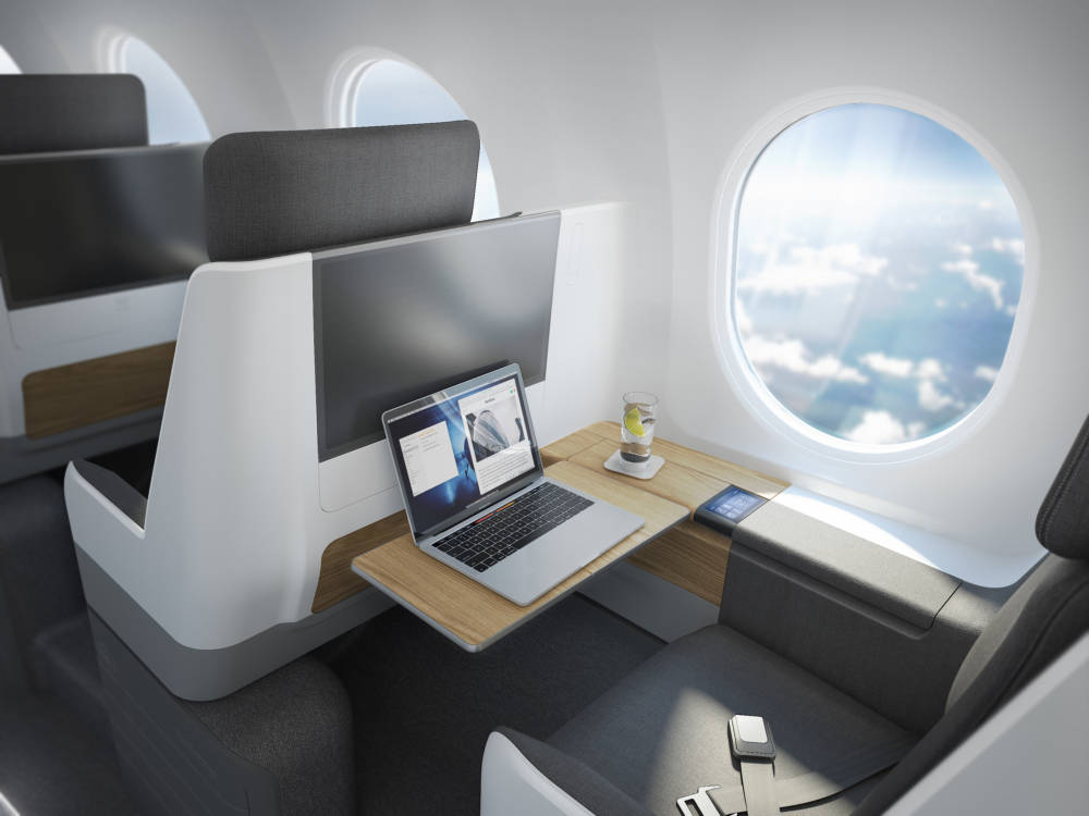 Bei der Innenausstattung können sich die 55 Passagiere auf Luxus einstellen