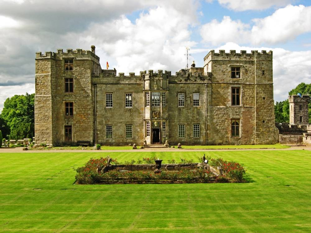 Chillingham Castle in England