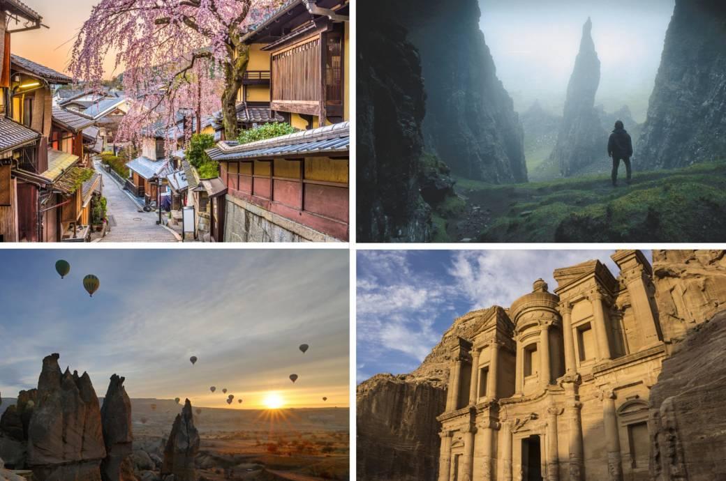 20 Orte, die Sie bis 50 unbedingt gesehen haben sollten