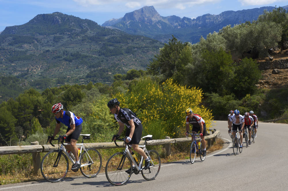 Radfahrer Mallorca