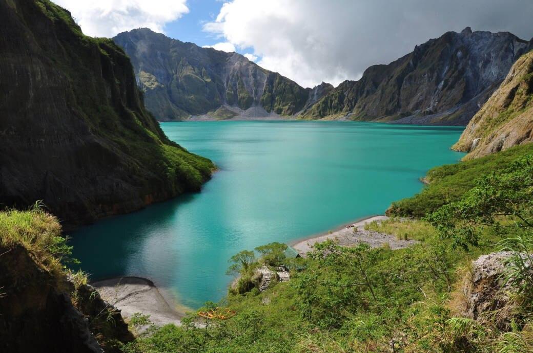 Vulkane Philippinen Karte.Pinatubo Heute Das Wurde Aus Dem Katastrophen Vulkan Travelbook