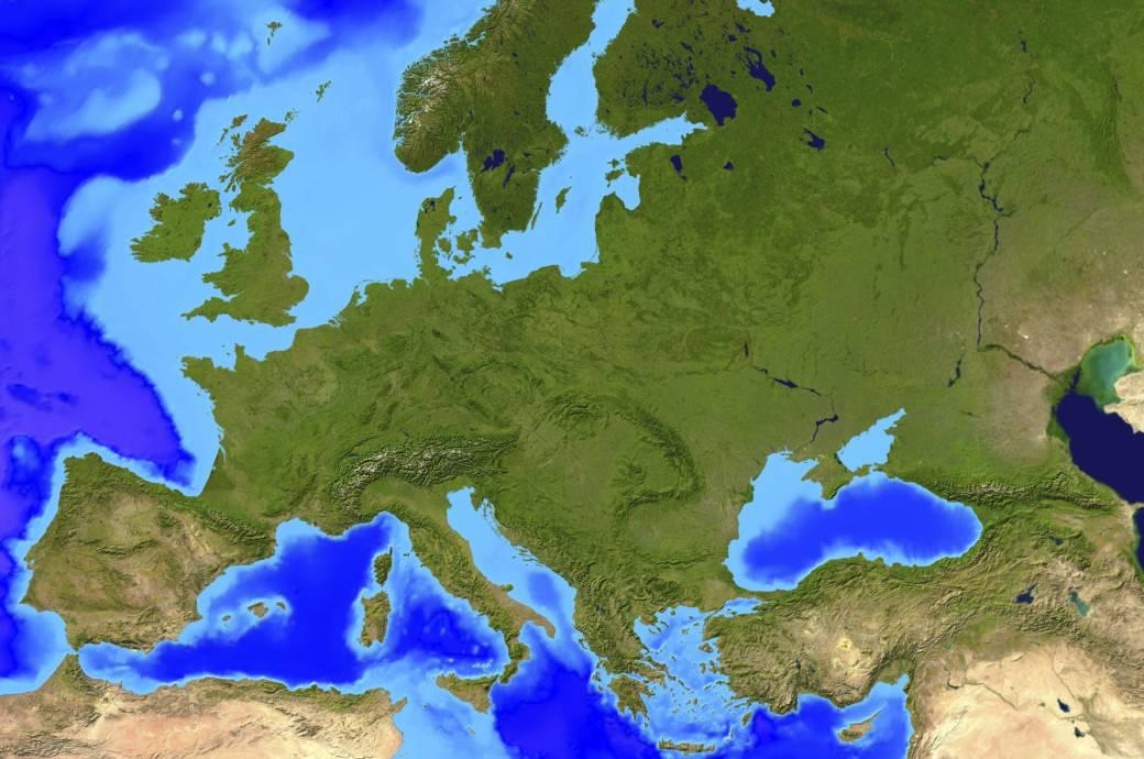 Zeig', wie gut du dich mit den Ländergrenzen in Europa auskennst!
