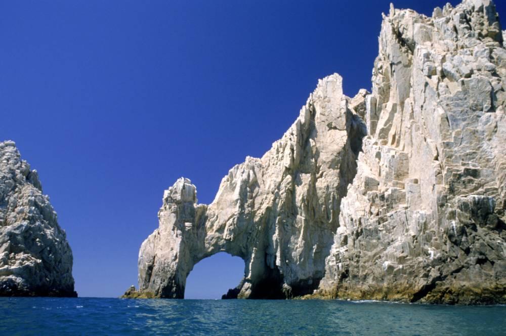 """Die Felsformation """"El Arco"""" in der Region Los Cabos"""