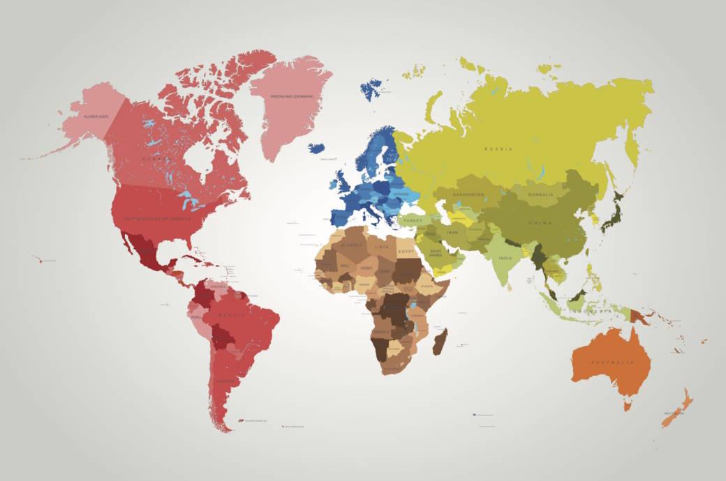 Welche dieser Hauptstädte liegen NICHT auf den genannten Kontinenten?